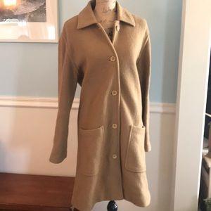 J.Crew 🐪camel color wool coat size medium